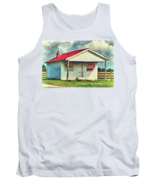 Tank Top featuring the painting Royster Fertilizers  by Lynne Jenkins