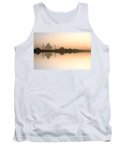 Tank Top featuring the photograph Taj Mahal  by Luciano Mortula