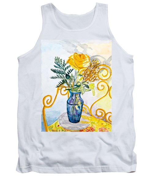 The Blue Vase Tank Top