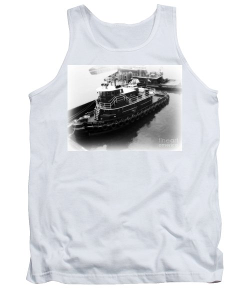 Tank Top featuring the photograph Tug  by Kristine Nora
