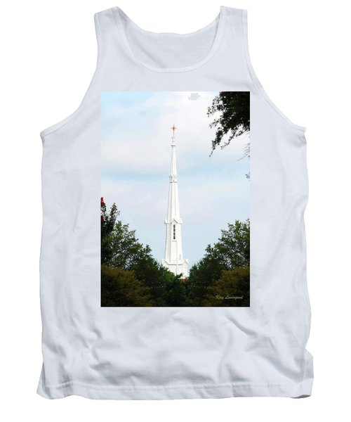 1st Christian Steeple Tank Top