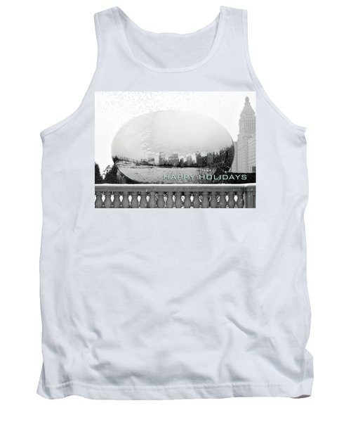 Happy Holidays From Chicago Tank Top