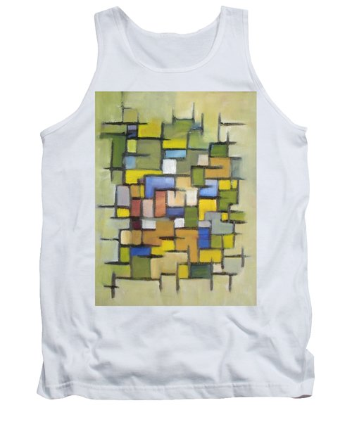 2012 Abstract Line Series Xx Tank Top by Patricia Cleasby