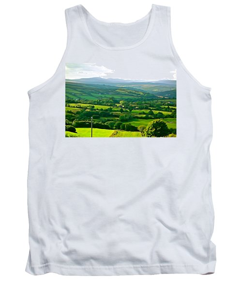 Tank Top featuring the photograph 50 Shades Of Green by Charlie and Norma Brock