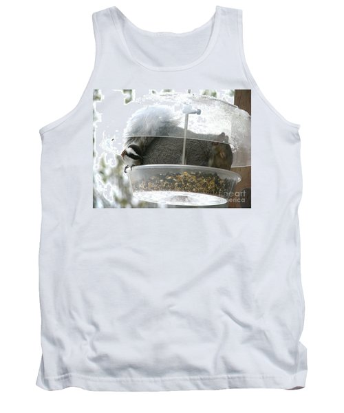 Tank Top featuring the photograph A Bit Crowded by Rory Sagner