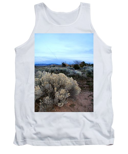 A Desert View After Sunset Tank Top