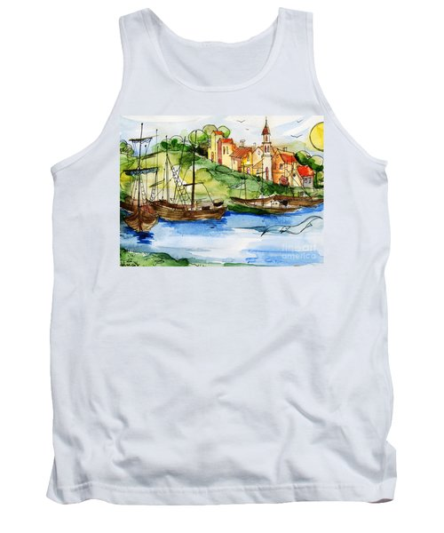 A Little Fisherman's Village Tank Top