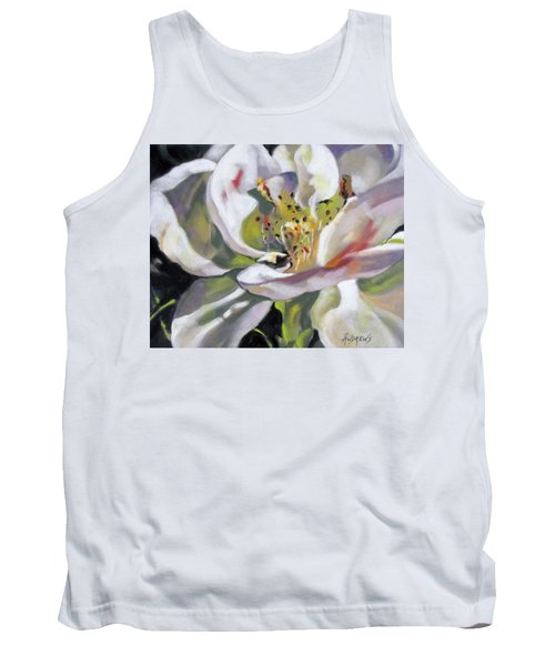 Tank Top featuring the painting A Rose By Any Other Name by Rae Andrews
