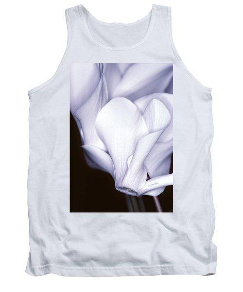 Silky Cyclamen Flowers Tank Top