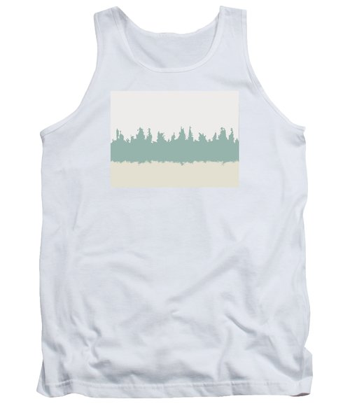 Tank Top featuring the digital art Above And Below by Jeff Iverson