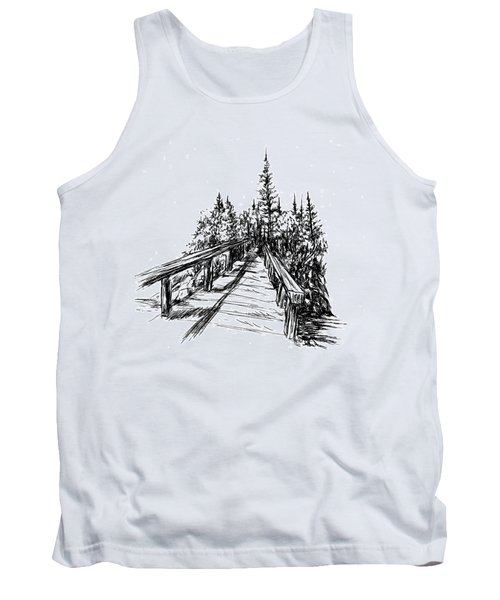 Across The Bridge Tank Top