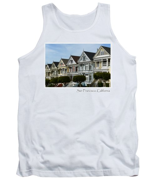 Alamo Square San Francisco California Tank Top