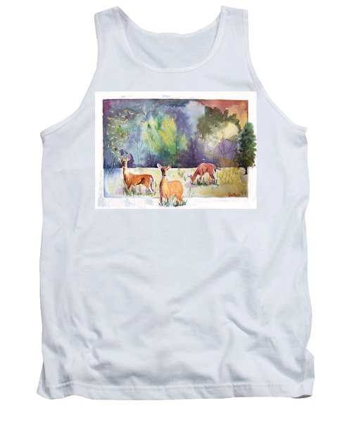 Alert Tank Top by Christine Lathrop