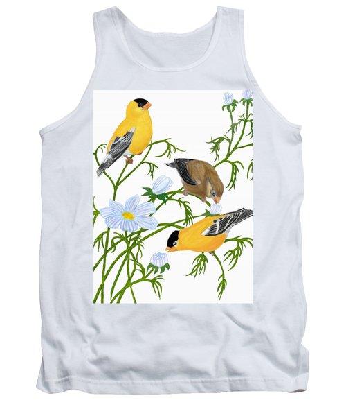 American Goldfinch Tank Top