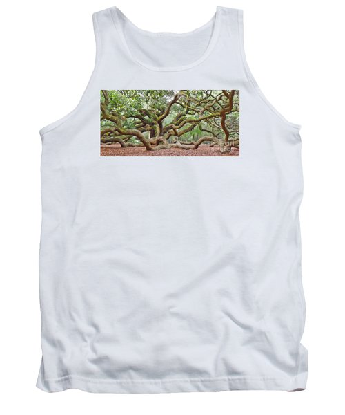 Tank Top featuring the photograph Angel Oak by Val Miller