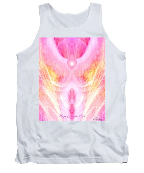 Angel Of Divine Love Tank Top