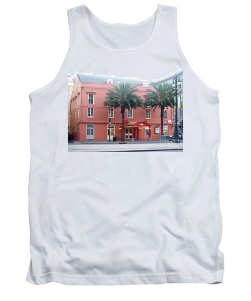 Tank Top featuring the photograph Arby's At Dawn by Alys Caviness-Gober