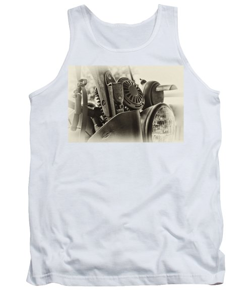 Army Motorcycle Tank Top