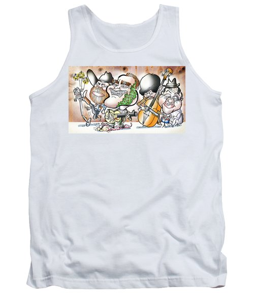 Arnold And The Terminators Tank Top