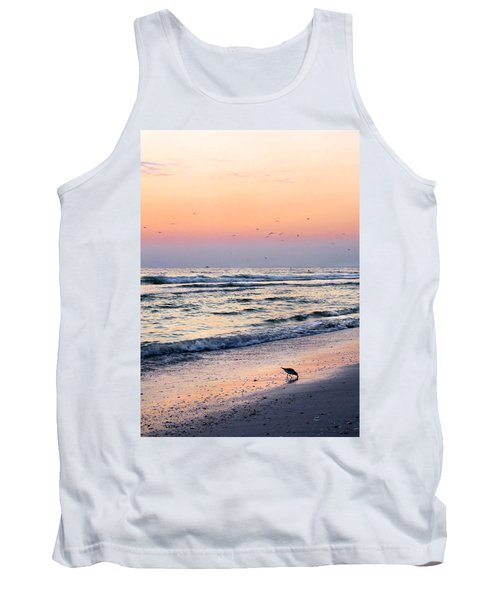 At Sunset Tank Top by Angela Rath