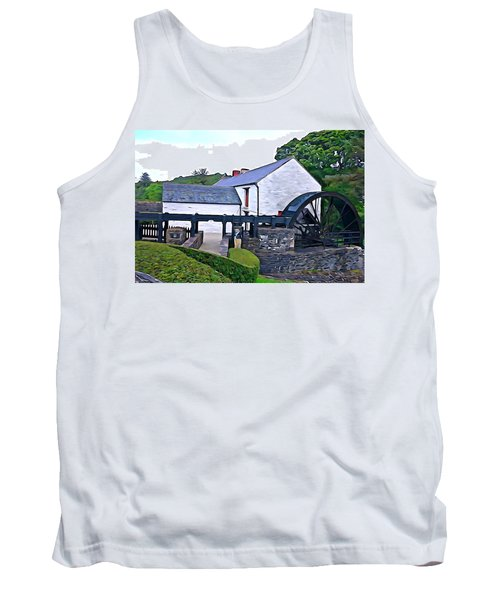 Tank Top featuring the photograph Auld Mill  by Charlie and Norma Brock
