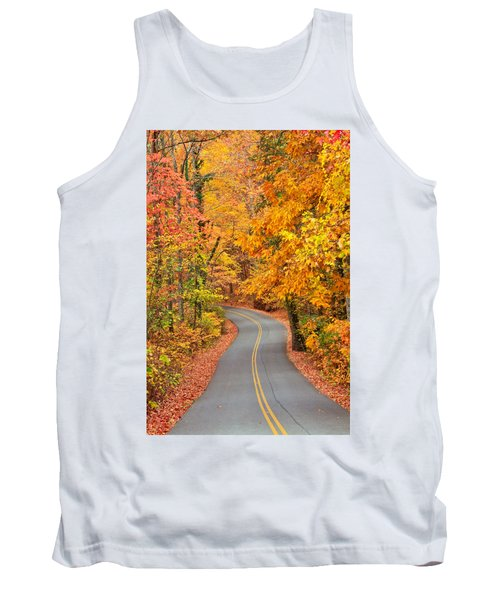 Autumn Drive Signal Mountain Tank Top