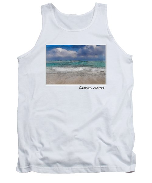 Beach Background Tank Top