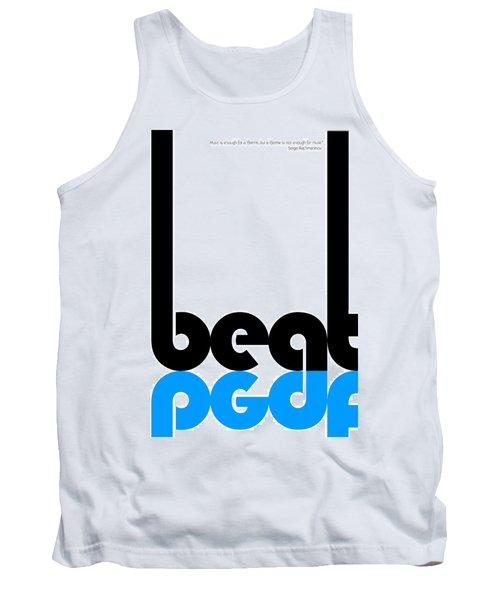 Beat Poster Tank Top