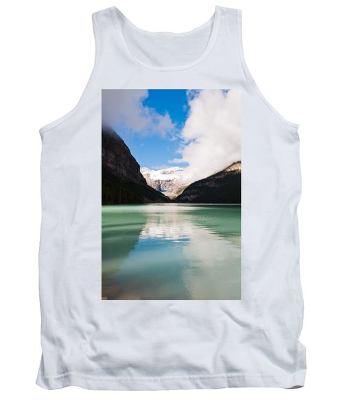 Tank Top featuring the photograph Beautiful Lake Louise by Cheryl Baxter