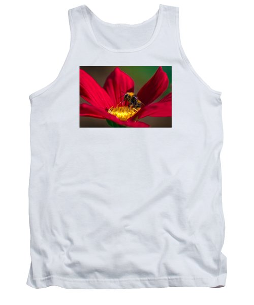 Tank Top featuring the photograph Beebot by Stwayne Keubrick