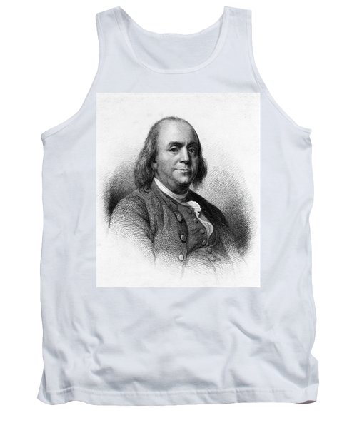 Tank Top featuring the photograph Benjamin Franklin by International  Images