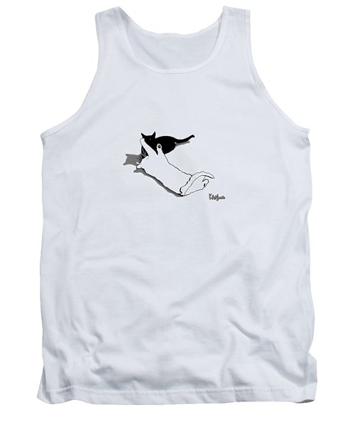 Black And White Cats Tank Top