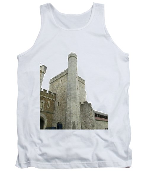 Black Tower Tank Top