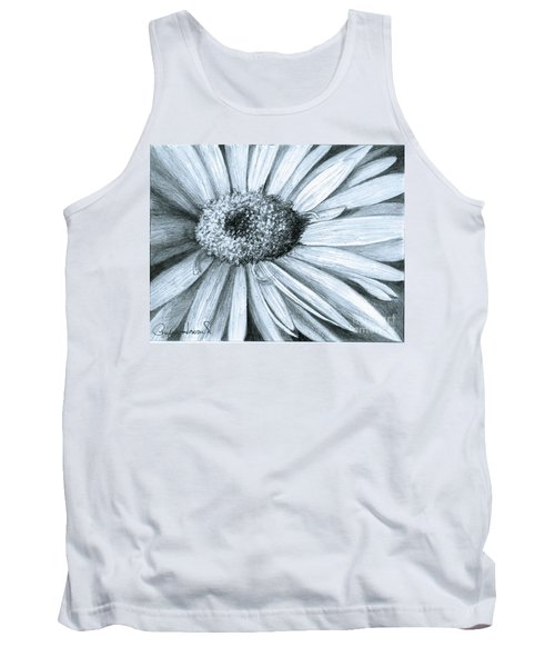 Black White Gerber Tank Top