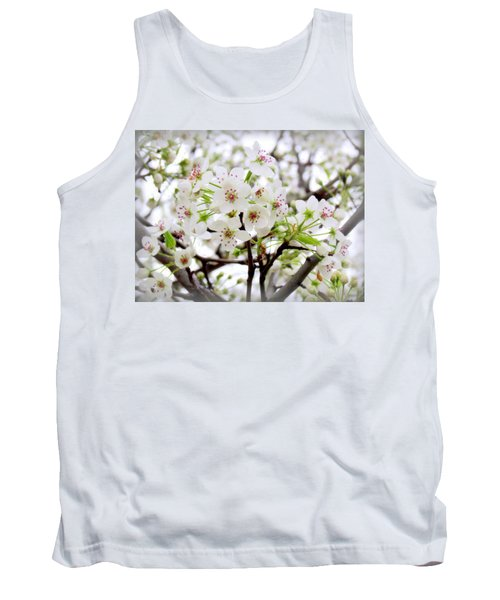 Tank Top featuring the photograph Blooming Ornamental Tree by Kay Novy