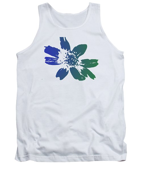 Tank Top featuring the photograph Blue In Bloom by Lauren Radke
