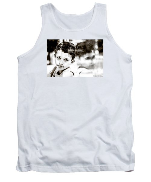 Tank Top featuring the photograph Blurred Thoughts by Stwayne Keubrick