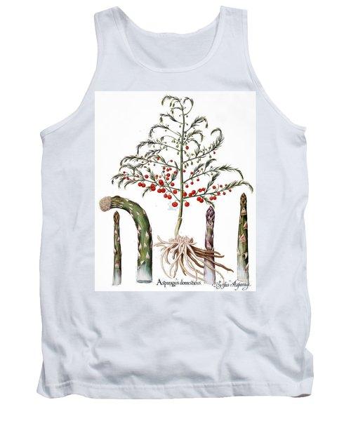Botany: Asparagus, 1613 Tank Top by Granger