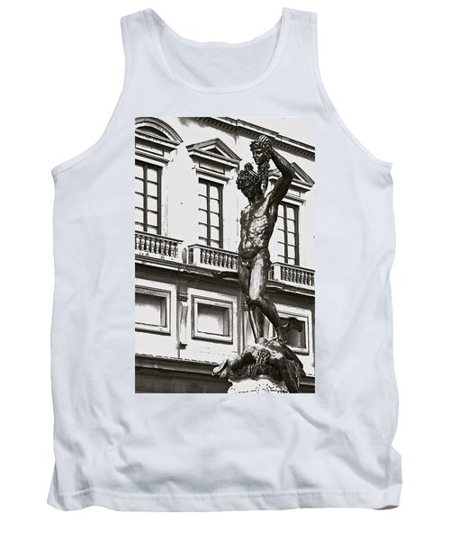 Tank Top featuring the photograph Bronze Icon by Eric Tressler
