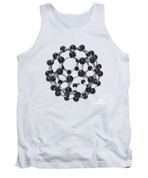 Buckminsterfullerene Or Buckyball C60 18 Tank Top