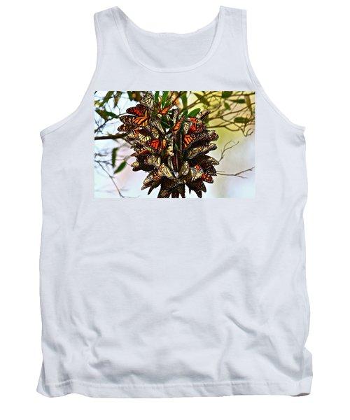 Butterfly Bouquet Tank Top