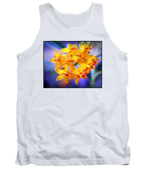 Butterfly Weed Tank Top by Judi Bagwell