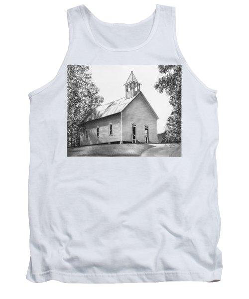 Cades Cove Methodist Church Tank Top