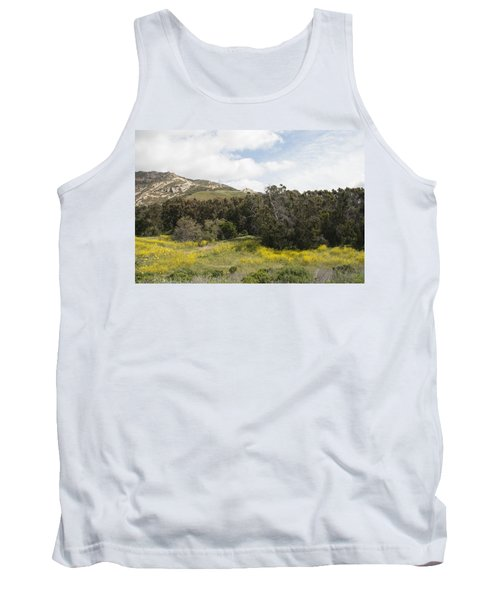California Hillside View IIi Tank Top