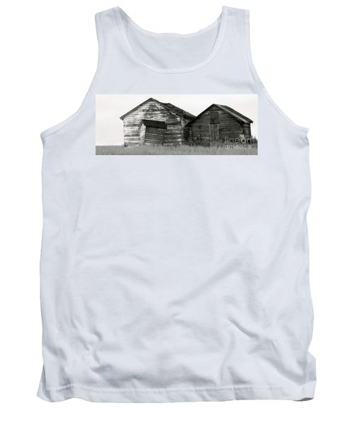Tank Top featuring the photograph Canadian Barns by Jerry Fornarotto