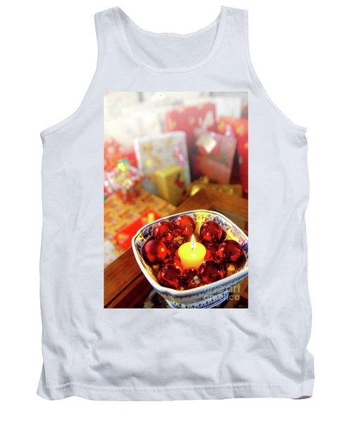 Candle And Balls Tank Top