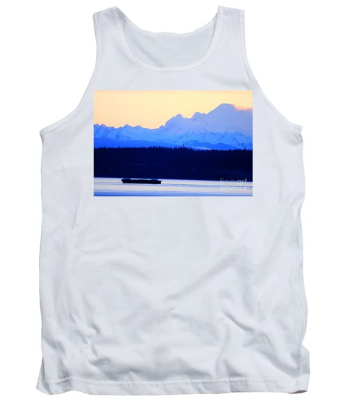Washington Puget Sound Cascade Waterway Tank Top