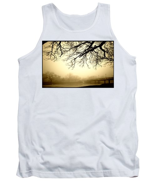 Castle In The Fog Tank Top by Brian Duram