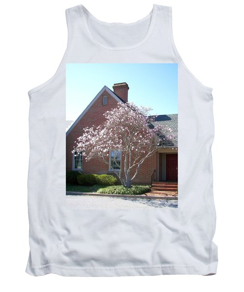 Tank Top featuring the photograph Cherry Blossom by Pamela Hyde Wilson