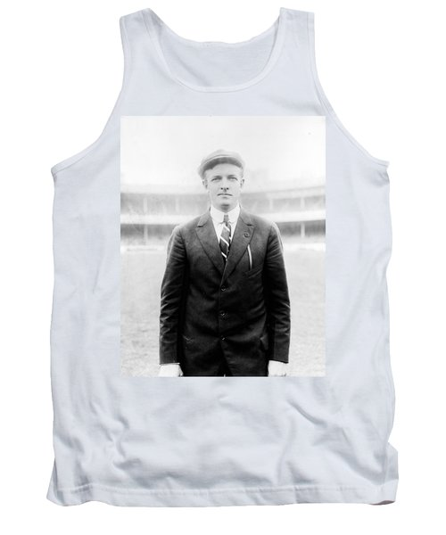 Tank Top featuring the photograph Christy Mathewson - Major League Baseball Player by International  Images